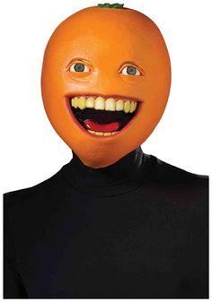 #NoKidHungry Annoying Orange Mask