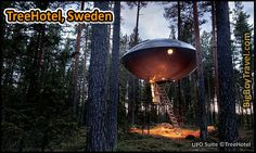 Coolest Hotels In The World, Top Ten, TreeHotel Sweden