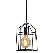 Pendant Lamp Frame B Black - 90558 Luz Led, Pendant Lamp, Ceiling Lights, Lighting, Frame, Home Decor, Cottage, Black, Industrial Lamps