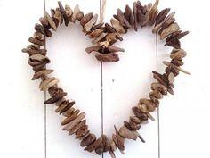 Coeur en bois flott�