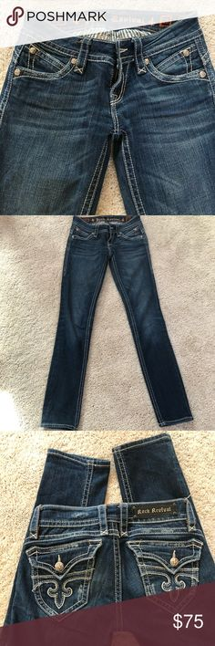 Ladies Rock Revival Skinny Jeans (Patti) - Size 26 Great condition! Smoke free home Rock Revival Jeans Skinny