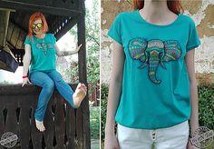 entee / Etno slon - dámske tričko