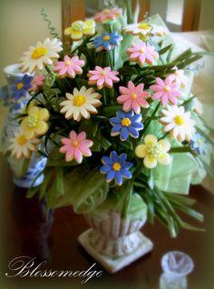 Bouquet of wildflower cookies