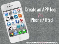 create an app icon for iPhone/iPad
