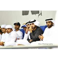 Majid bin Mohammed bin Rashid Al Maktoum y su primo Mohammed bin Dalmook bin Juma Al Maktoum, Nas 2014. Foto: moo_photographyy