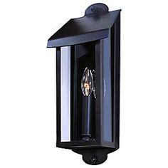 Alpine Outdoor Tall Wall Sconce by Troy Lighting