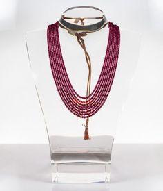 #Collana #rubino