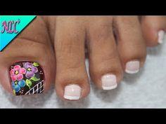 Toe Nails, Lily, Pedicures, Ideas Para, Amanda, Beauty, Youtube, Feet Nails, Nail Art