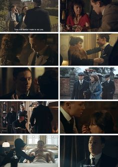 Peaky Blinders Polly and Michael Gray