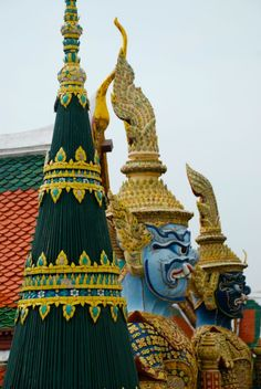 GRAND PALACE - Visita obrigatória em Bangkok.