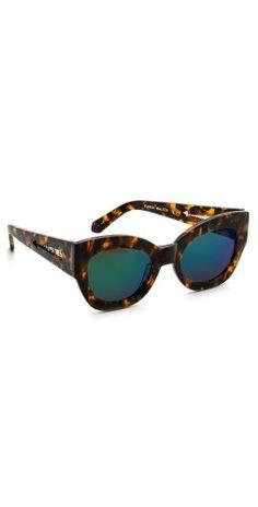 Karen Walker Superstars Collection Northern Lights Mirrored Sunglasses | SHOPBOP