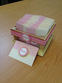 Tarjeta de presentación Baby Invitations, Cool Business Cards, Calling Cards, Handmade Birthday Cards, Envelope, Decorative Boxes, Stationery, Baby Shower, Diy Crafts
