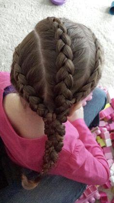 3 dutch braids braided  ♡
