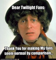 Doctor Who Twilight Tom Baker fan fourth 4Th