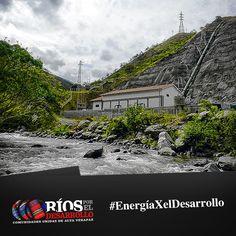 #SabíasQue en el proceso para la generación de energía eléctrica por medio de las centrales hidroeléctricas es que el agua que fue tomada prestada del río, es devuelta a su caudal original más limpia y así continúa su recorrido minimizando el impacto en el ecosistema.
