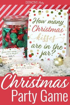 diy Christmas games - Christmas Party How Many Kisses Game Dinner Party Games For Adults, Tween Party Games, Bridal Party Games, Engagement Party Games, Party Favors For Adults, Beach Party Games, Kitty Party Games, Holiday Party Games, Princess Party Games