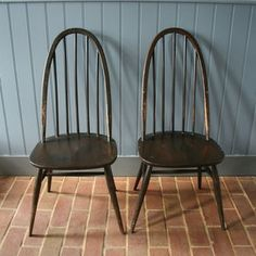 Ercol Quaker Dining Chairs Set Of Four - furniture