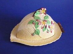 Carlton Ware Yellow 'Apple Blossom' Cheese Dish and Cover A classic Carlton Ware design, Apple Blossom was introduced around Vintage China, Vintage Love, Vintage Table, Yellow Apple, Cheese Dome, Carlton Ware, Cheese Dishes, Vintage Ceramic, Dinnerware