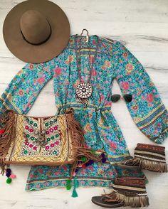 Summerstyle! Get the look from @spell_byronbay @emonkibiza @flordevidaibiza ☀️☀️#ootd #fashion #bohemian #bohostyle #hippie #hippychic #ibizabohogirl #spelldesigns #emonkibiza #ibiza #flordevidaibiza