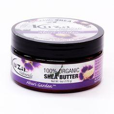 Kuza 100% Organic Shea Butter Aburi Garden 6oz