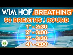 Wim Hof Guided Breathing (4 Rounds) ADVANCED ⏱ With Onscreen Timer - YouTube Meditation Videos, Meditation Music, Workout For Beginners, Beginner Exercise, Alkalize Your Body, Wim Hof, Belly Breathing, Breathing Techniques, Breath In Breath Out