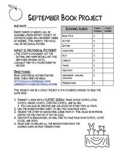 *FREEBIE* These are Book Report Projects I have made to cover different genres: Historical Fiction, Informational Text, Mystery, Fantasy, Science Fiction, Biography, Folktales, Poetry and Realistic Fiction.   Students create the following: puppet show, newspaper, puzzle, gift bag project, comic strip, living museum, cereal box project, a scrapbook, and a message in a bottle.   Each project is completely different and fun for the kids, as well as educational. The projects all align with the…