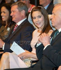 Queen & Princesses Watchers - Princess Mary presented awards to three neuroscientists. The ceremony took place in Copenhagen.