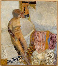 ピエール・ボナール《浴槽の裸婦》