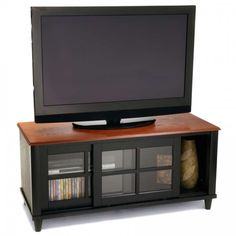 Convenience Concepts French Country TV Stand with Shelf and Sliding Doors for Flat Panel TV's Up to or Natural Tv Entertainment Centers, Entertainment Furniture, Tv Stand Wayfair, Tv Stand Shelves, French Country Living Room, Country French, Country Style, Cool Tv Stands, Flat Panel Tv