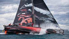 Team Puma's Mar Mostro which competed in the round-the-world 2011-2012 Volvo Ocean Race.