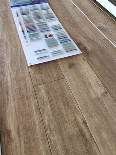 Houtlook tegels 19x150 cm met Mapei gekleurde voeg