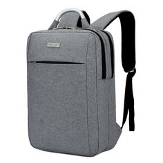 643650b1e966 14 15 15.6 Inch Solid Business Nylon Computer Laptop Notebook Backpack Bags  Case School Backpack for