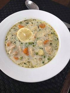 Tejszínes-tárkonyos csirke raguleves – Nekünk is kedvenc ez a leves :)