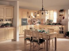 beautiful country kitchens   Classic Athena Kitchen Dining   Interior Exterior Plan
