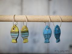 ceramic earrings by Giosy Matteu