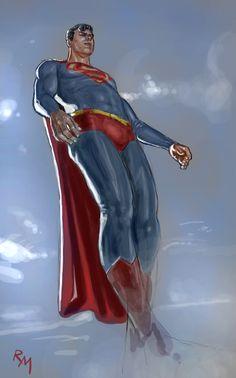 Superman sk003 by RaffaeleMarinetti on deviantART