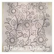 Ideas for embroidery designs mexican fabrics Mexican Embroidery, Floral Embroidery Patterns, Crewel Embroidery, Applique Patterns, Hand Embroidery Designs, Ribbon Embroidery, Embroidered Flowers, Cross Stitch Embroidery, Motifs D'appliques