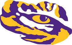 LSU Tigers Secondary Logo (2014) -