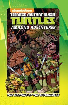 19 Meilleures Images Du Tableau Teenage Mutant Ninja Turtles Idw
