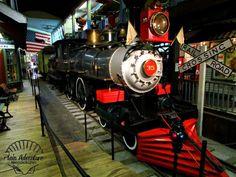 Steam Locomotive by Plain Adventure, via Flickr - in St. Joseph, MO