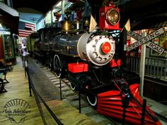 Steam Locomotive by Plain Adventure, via Flickr - in St. Joseph, MO