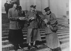 City carriers, 1917 Following the successful performance of two women as letter carriers in Washington, D.C., in November 1917, First Assistant Postmaster General John C. Koons asked the postmasters of eight of the largest U.S. cities to conduct 15-day tests of women as letter carriers to prepare for possible wartime necessity due to manpower shortages.
