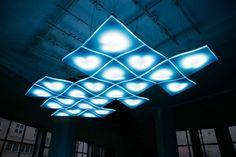 Light Wave for Bombay Sapphire by Studio Aisslinger  http://www.aisslinger.de/