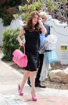 Lisa Vanderpump Leaves a Malibu Restaurant