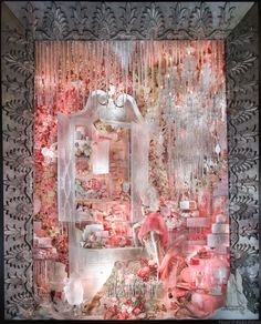 THE WINDOW WATCHER - a visit to our 2013 Holiday Windows, Holidays on Ice. Photo: Ricky Zehavi