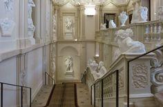 Staircase - Liechtenstein palace Vienna