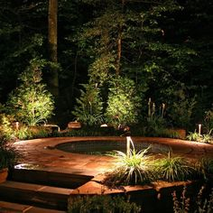 Lovely DIY Patio Lighting projects you can do for your backyard entertainment Backyard Lighting, Patio Lighting, Exterior Lighting, Landscape Lighting, Lighting Ideas, Rustic Outdoor Decor, Outdoor Ideas, Modern Kitchen Lighting, Jacuzzi Outdoor