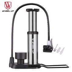 12.69$  Know more - WHEEL UP 2017 New Arrival Portable Pump Ultra-light Bike Pump Hose With Pressure Gauge With 120 Psi High Pressure Bicycle Pump   #aliexpresschina