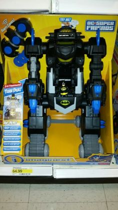 Batman imaginext R/C transforming Batbot @Target $64.99