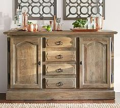Pottery Barnu0027s Buffets And Sideboards Feature Expert Craftsmanship. Find Buffet  Tables And Add Functional Style To The Dining Room.